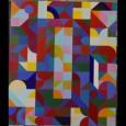 Fielder 1 2017 acrylic on canvas 200x165 cms