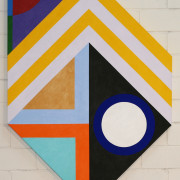 Escutcheon 7 2020 acrylic on canvas 132x93.5 COL00226 crop
